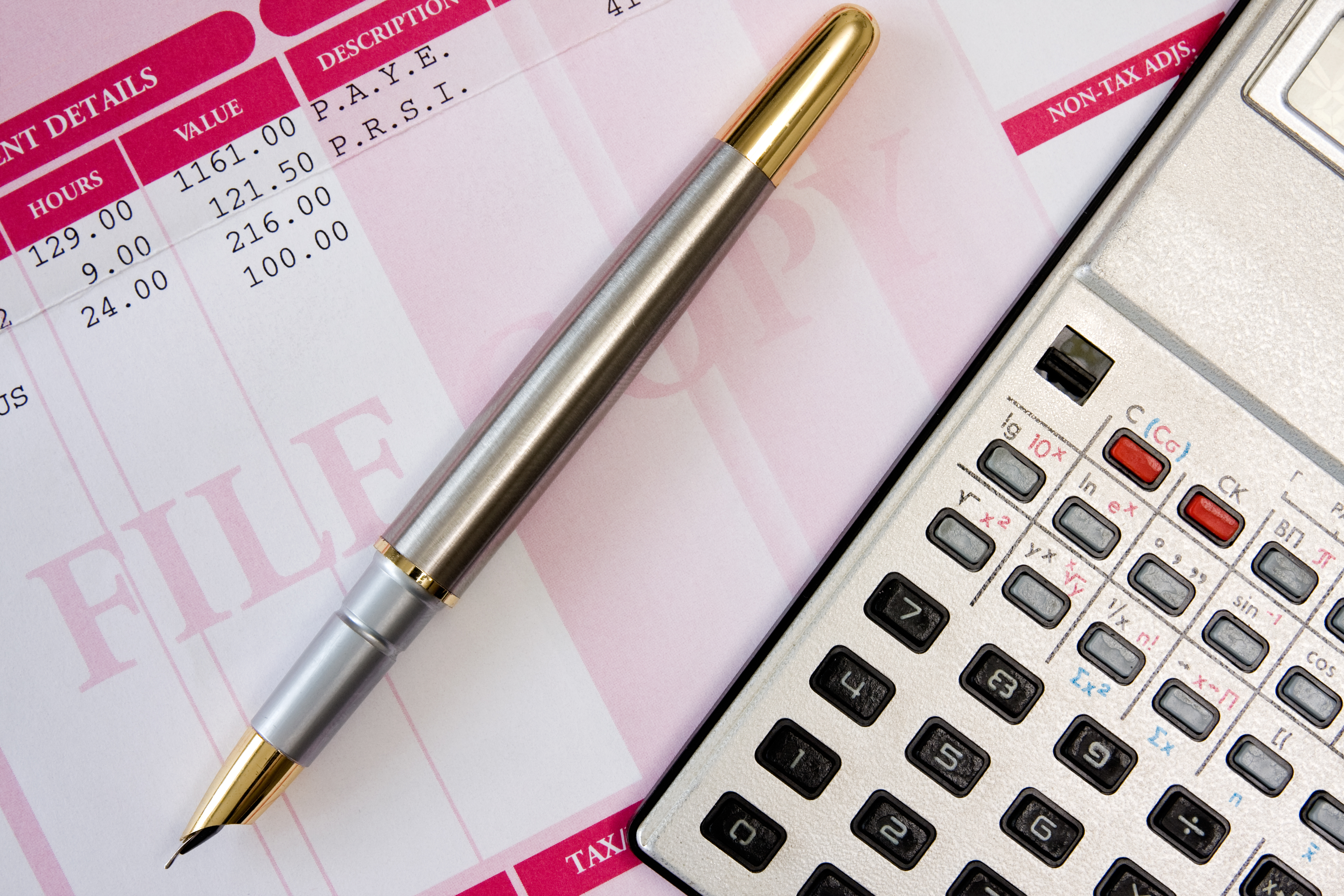 Labor-and-Employment- pen-calculator-and-payroll-summary